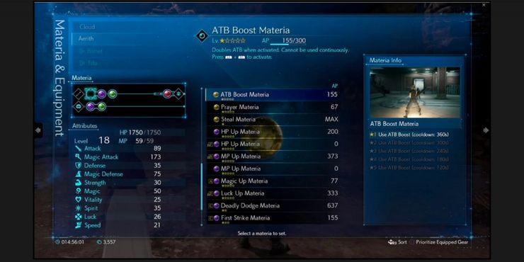 Materia Yang Dianggap Remeh Tetapi Sebenarnya Sangat Berguna Di Final Fantasy 7 Remake